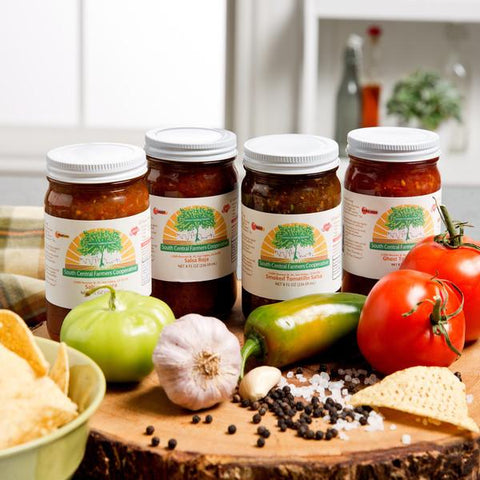 South Central Farmers Salsa Sampler (Set of 4)-GoGetGlam