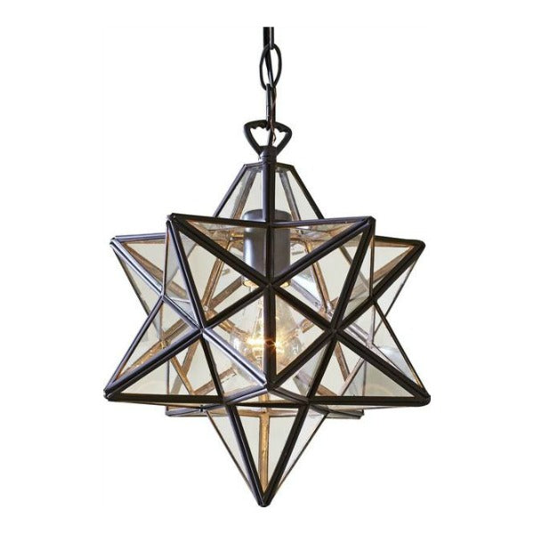 Star Above Steel Pendant Lamp - GoGetGlam Boho Style