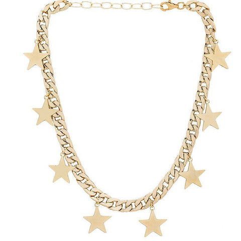 Celestial Star Gold Necklace-GoGetGlam