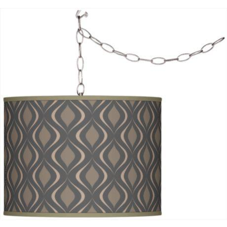 Swag Retro Pattern Plug-In Pendant Chandelier-GoGetGlam