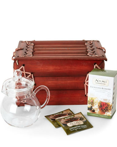 Tea By Numi Flowering Tea Brew Set-GoGetGlam