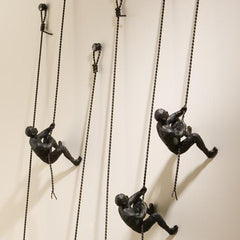 The Climber Wall Sculpture-GoGetGlam
