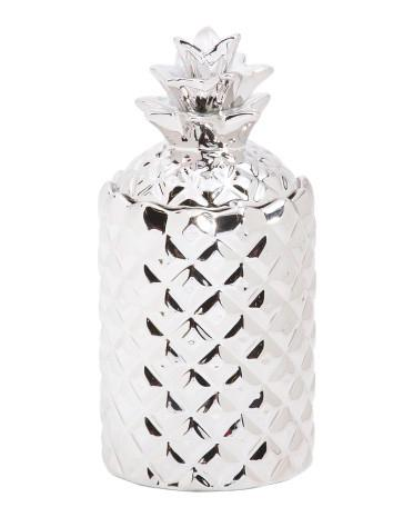THOMPSON FERRIER Amber Oud Silver Pineapple Candle-GoGetGlam