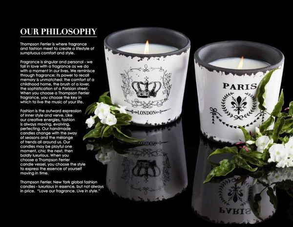 THOMPSON FERRIER Luxury Tea Mint Pineapple Candle-GoGetGlam