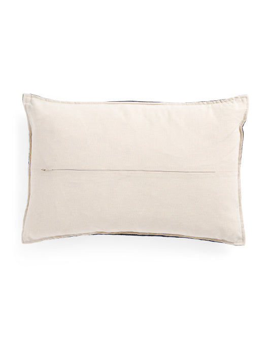 Thro by Marlo Lorenz Purple Crushed Velvet Throw Pillow-GoGetGlam