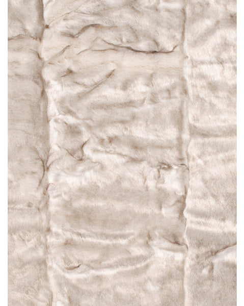 Deluxe Brand Luxury Faux Fur Throw Blanket