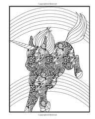 Unicorn Coloring Book for Adults Who Color-GoGetGlam
