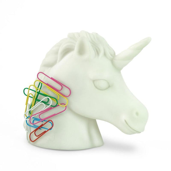 Unicorn Paper Clip Holder-GoGetGlam