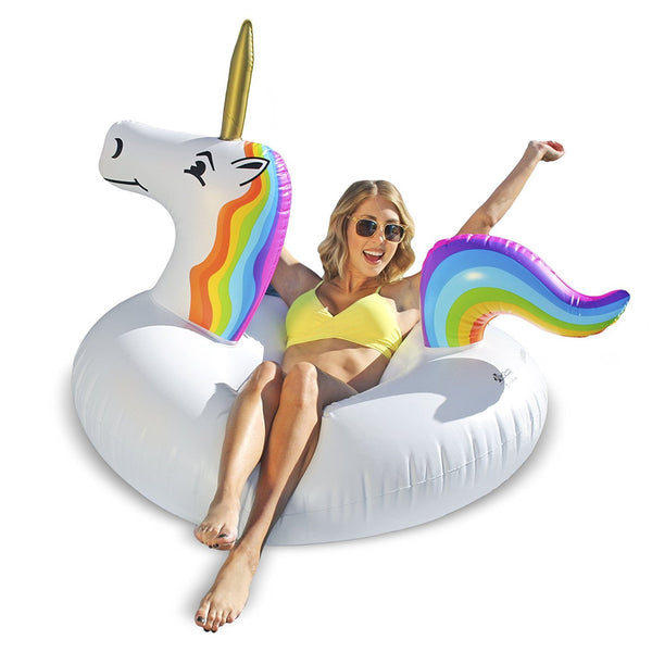 Unicorn Pool Float Tube Raft-GoGetGlam