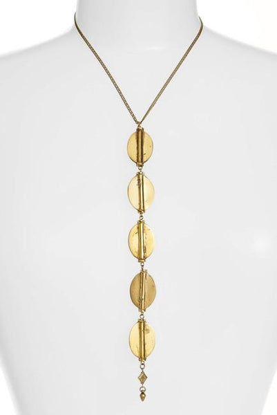 Vanessa Mooney Ava Pendant Necklace-GoGetGlam