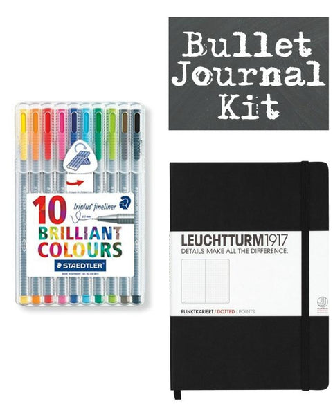Very Best Bullet Journal and Pen Set Organizer Starter Kit-GoGetGlam