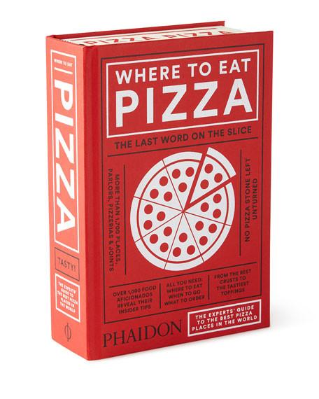 Where to Eat Pizza Hardcover Gift Book-GoGetGlam
