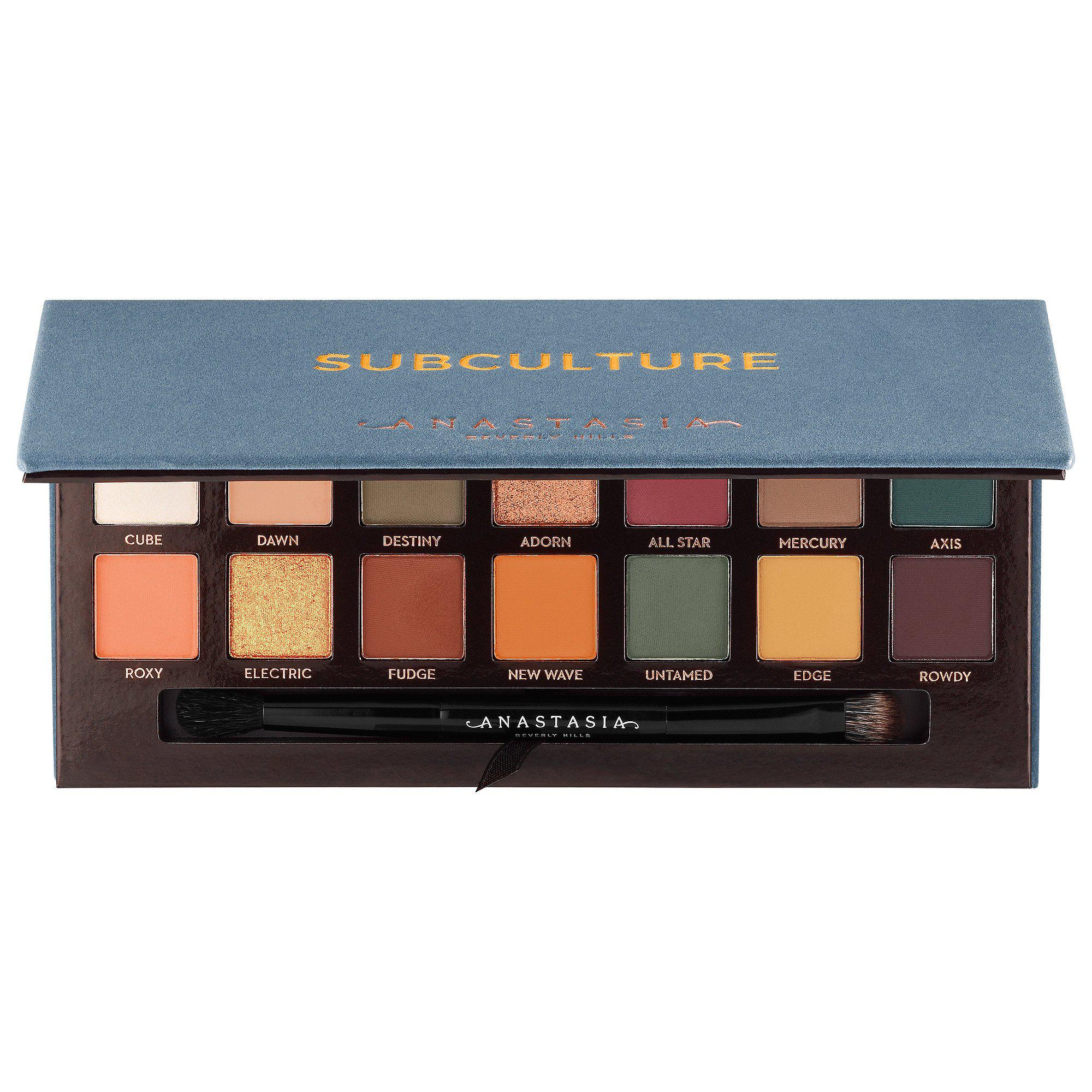 ANASTASIA BEVERLY HILLS Subculture Eye Shadow Palette