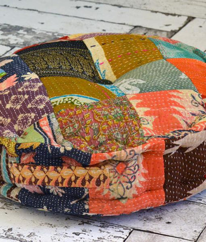 Bohemian Poufs & Floor Pillows