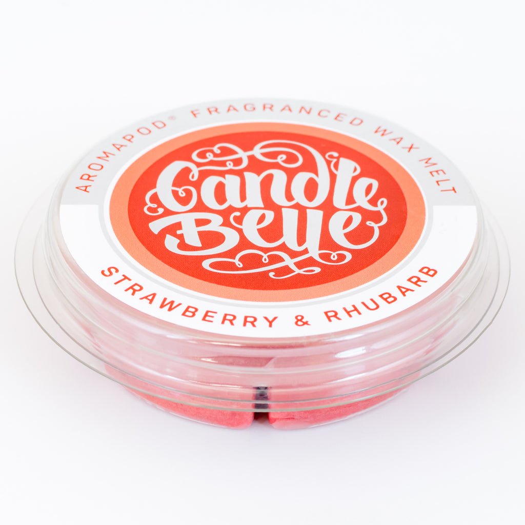 Candle Belle® Aromapod® Strawberry & Rhubarb Fragranced Wax Melt 48g