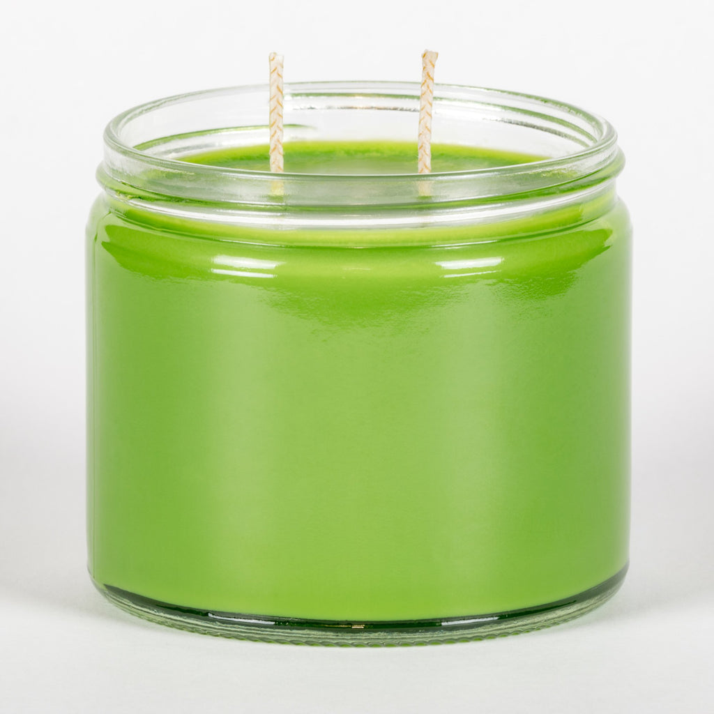 Candle Belle® Key Lime Pie Fragranced Twin Wick Jar Candle 240g