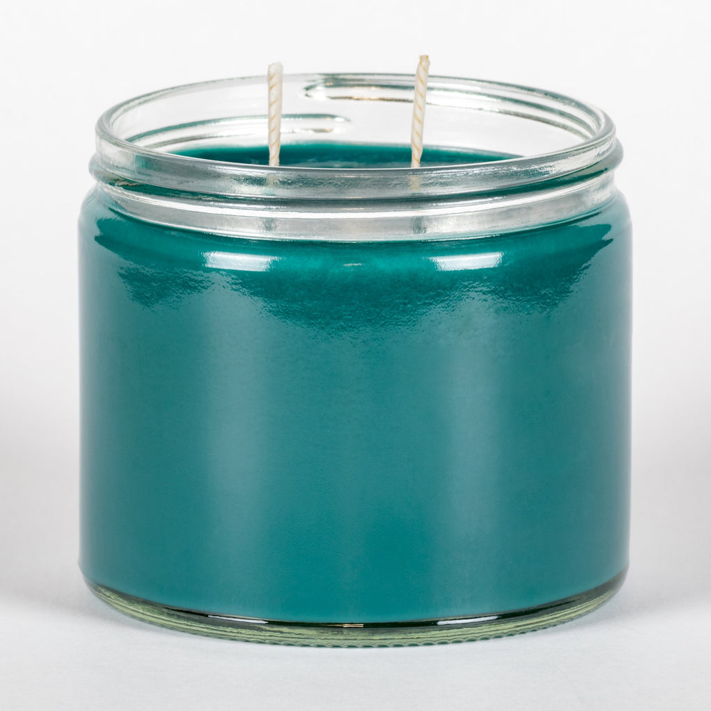 Candle Belle® Turquoise Sky Fragranced Twin Wick Jar Candle 240g