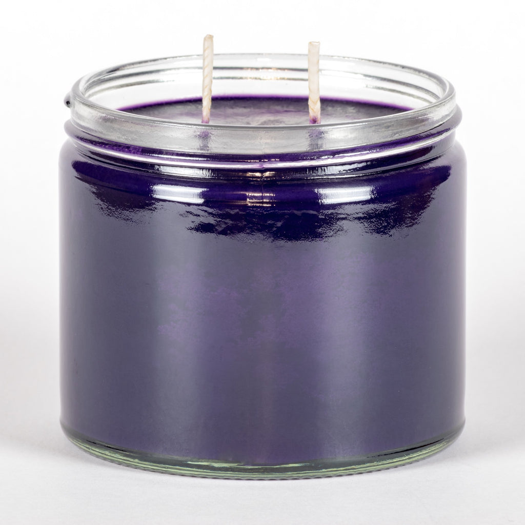 Candle Belle® Parma Violets Fragranced Twin Wick Jar Candle 240g