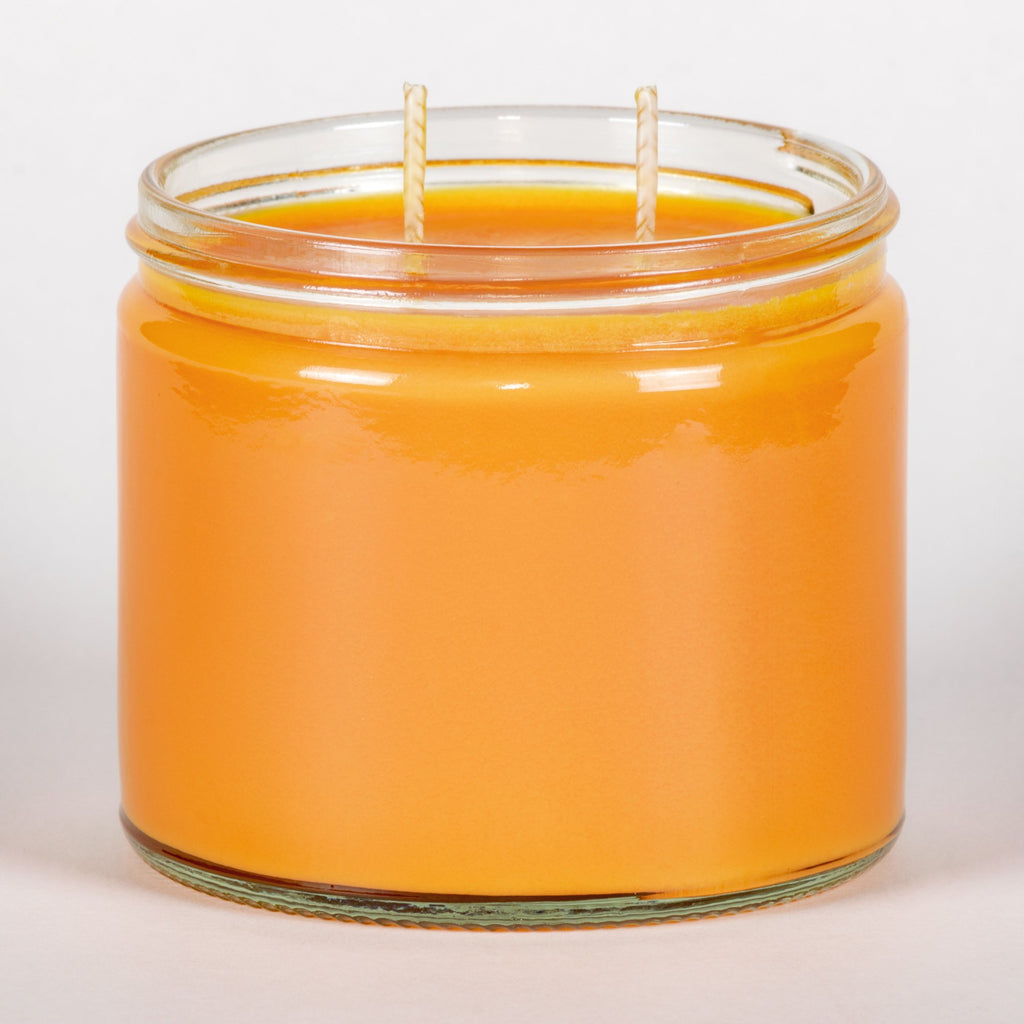 Candle Belle® Peach Bellini Fragranced Twin Wick Jar Candle 240g