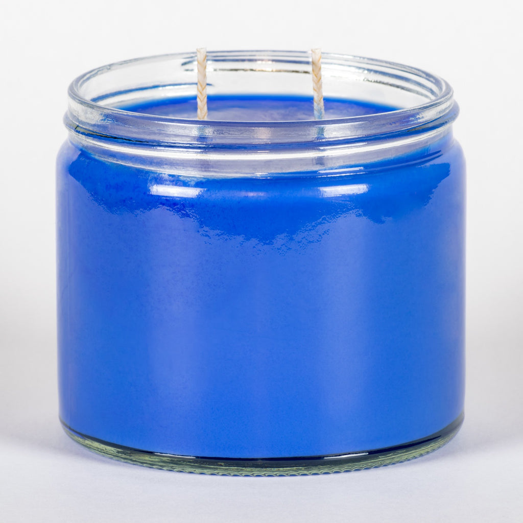 Candle Belle® Blueberry Cheesecake Fragranced Twin Wick Jar Candle 240g