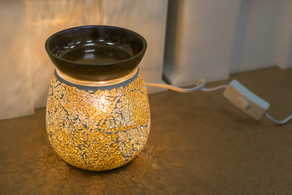 """The Mosaic"" Electric Wax Warmer by Airpure"