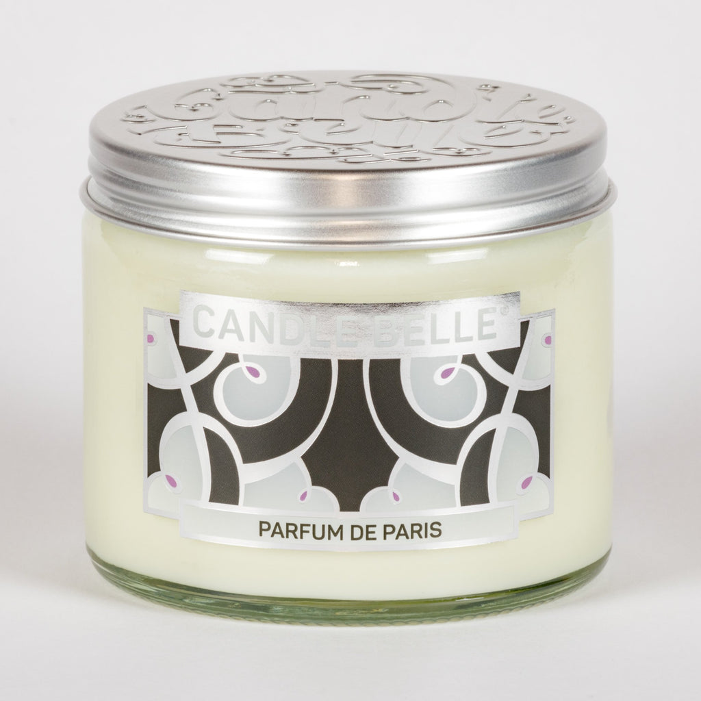 Candle Belle® DECO Parfum De Paris Fragranced Twin Wick Jar Candle 240g