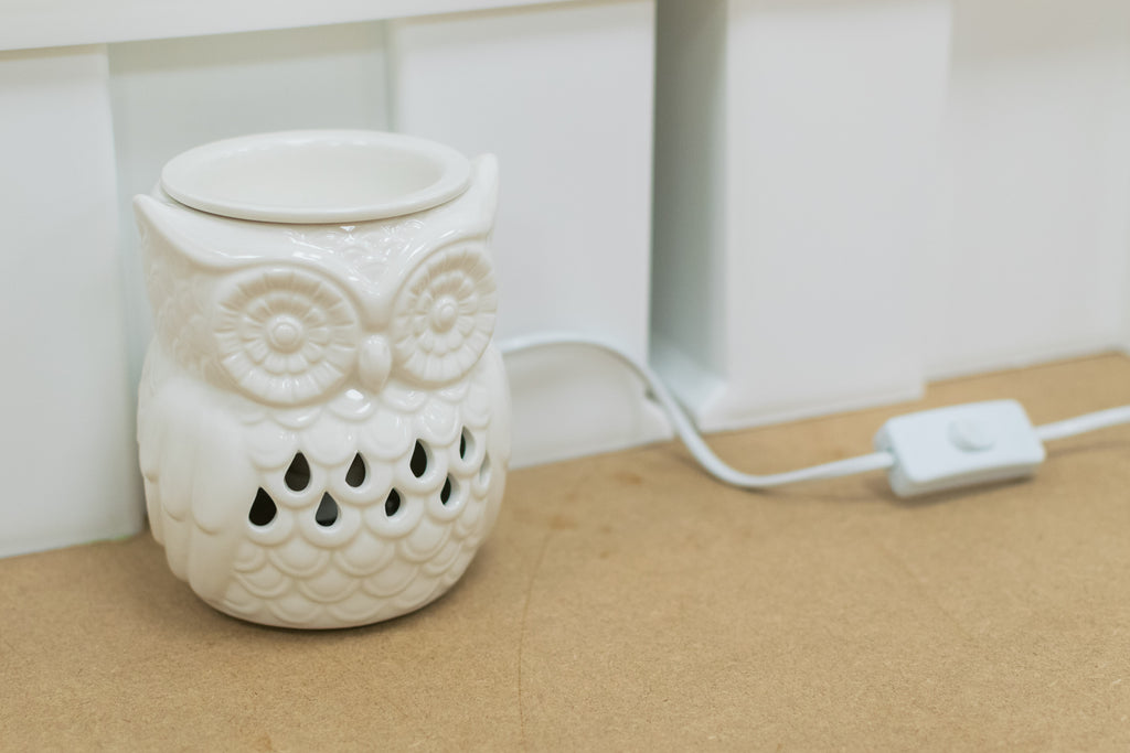 """The Owl"" Electric Wax Warmer by Airpure"