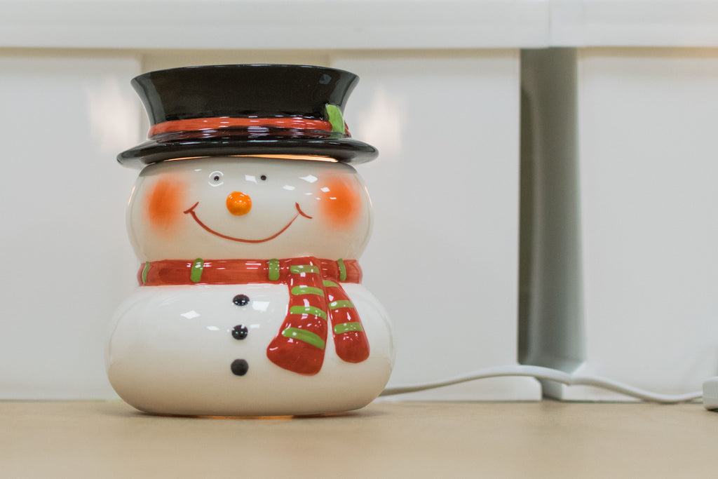 """The Snowman"" Electric Wax Warmer by Airpure"