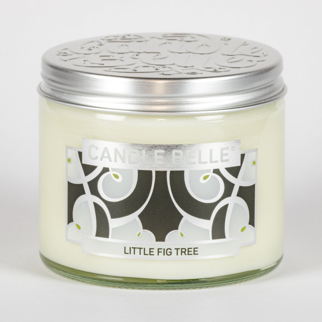 Candle Belle® DECO Little Fig Tree Fragranced Twin Wick Jar Candle 240g