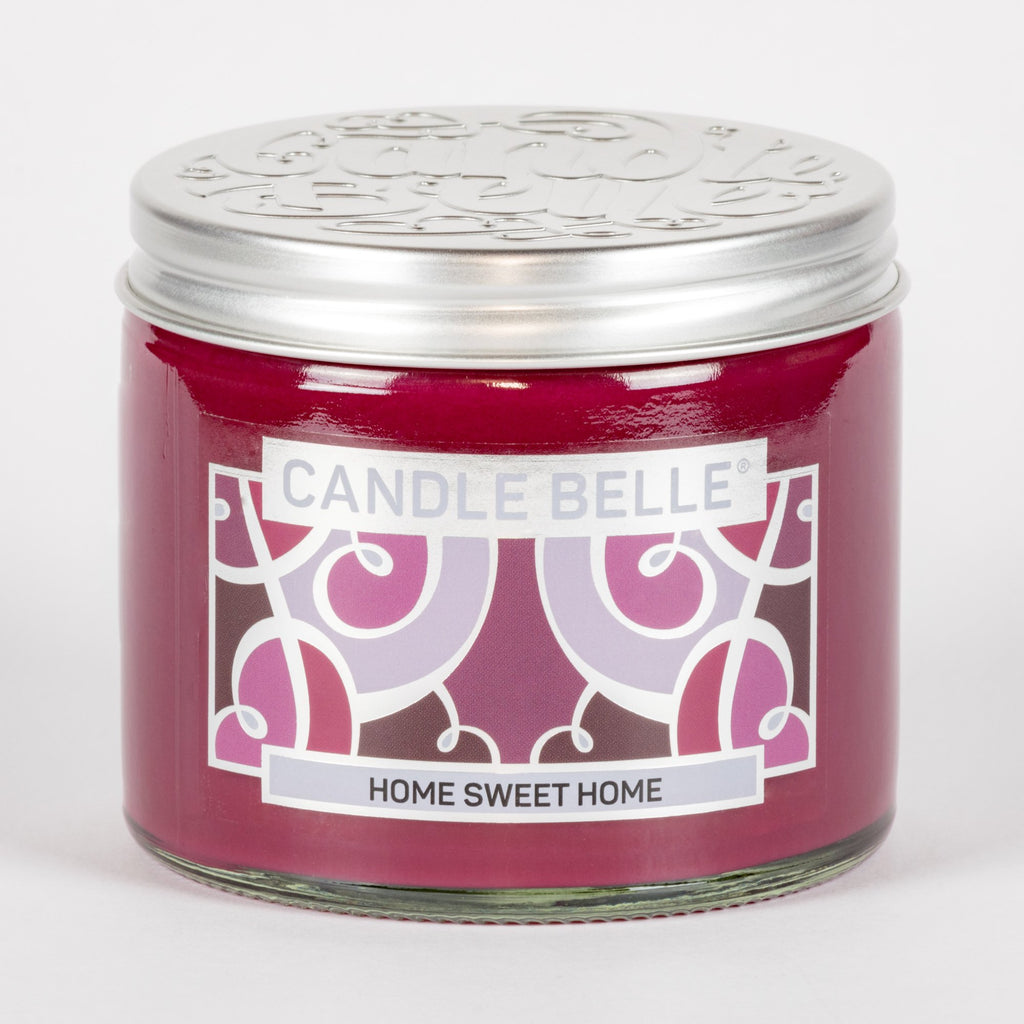 Candle Belle® Home Sweet Home Fragranced Twin Wick Jar Candle 240g