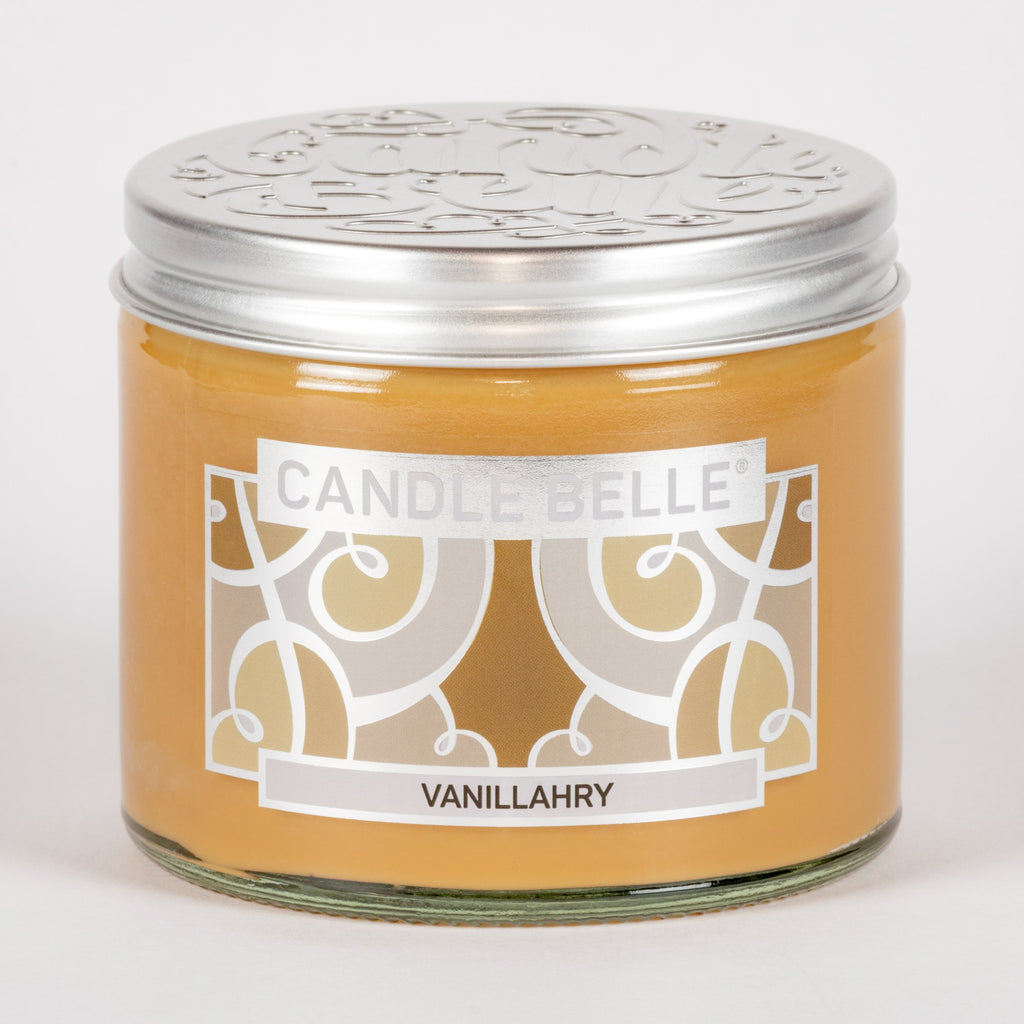 Candle Belle® Vanillahry Fragranced Twin Wick Jar Candle 240g