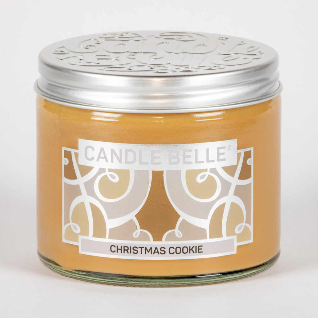 Candle Belle® Christmas Cookie Fragranced Twin Wick Jar Candle 240g