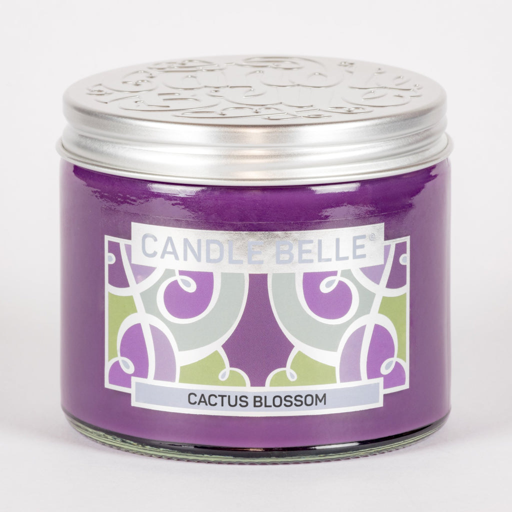 Candle Belle® Cactus Blossom Fragranced Twin Wick Jar Candle 240g