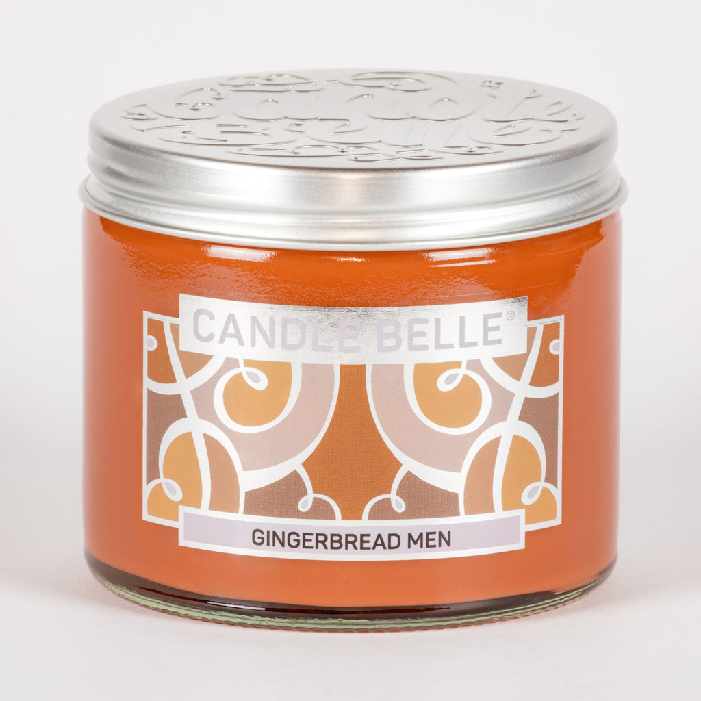 Candle Belle® Gingerbread Men Fragranced Twin Wick Jar Candle 240g