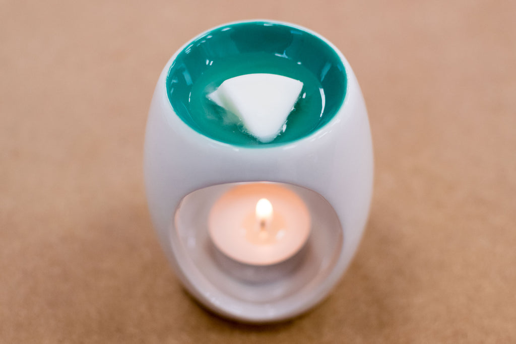 """Simple Ceramic"" Tealight Wax Warmer by Airpure"