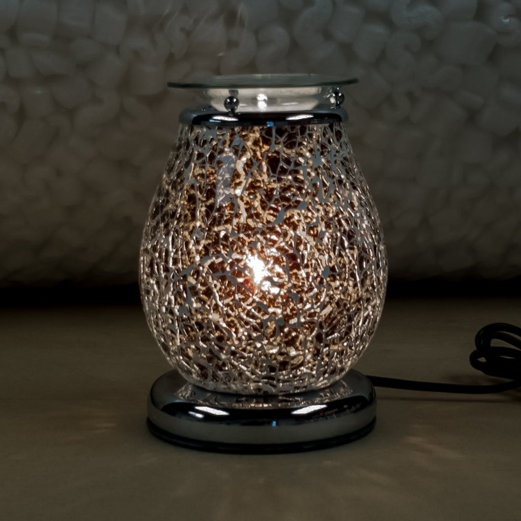 Juno Mosaic Electric Touch Wax Warmer by Aromatize