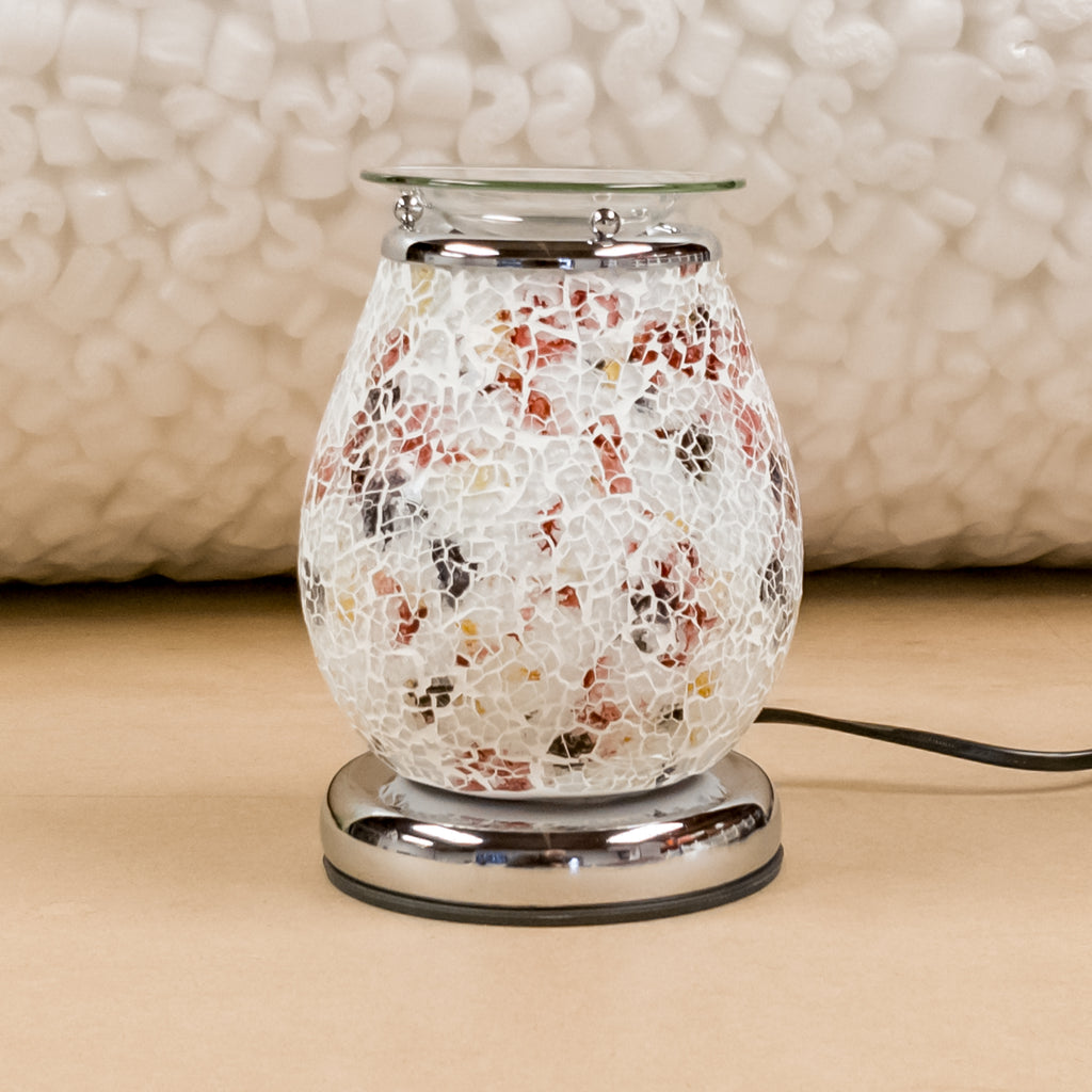 Minerva Mosaic Electric Touch Wax Warmer by Aromatize