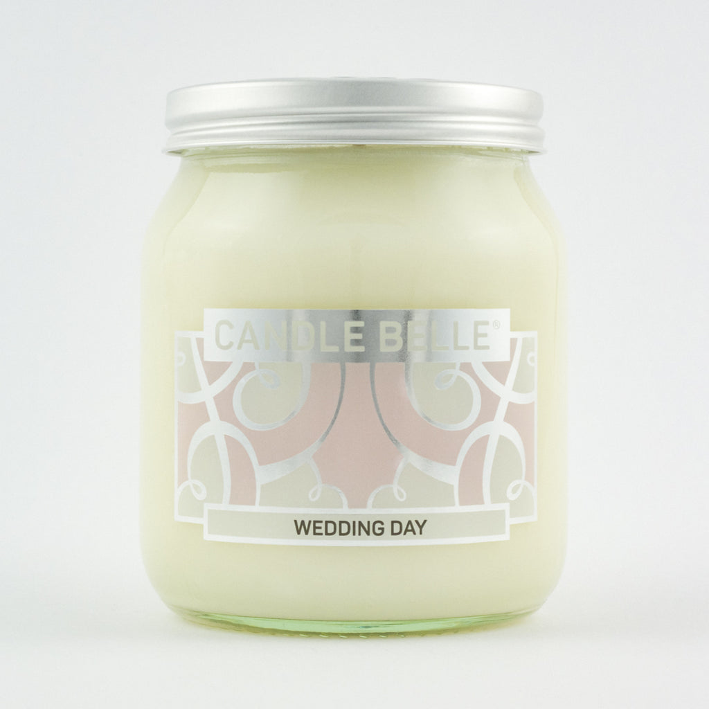 Candle Belle® Wedding Day Fragranced Single Wick Jar Candle 280g