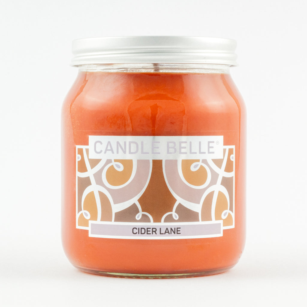 Candle Belle® Cider Lane Fragranced Single Wick Jar Candle 280g