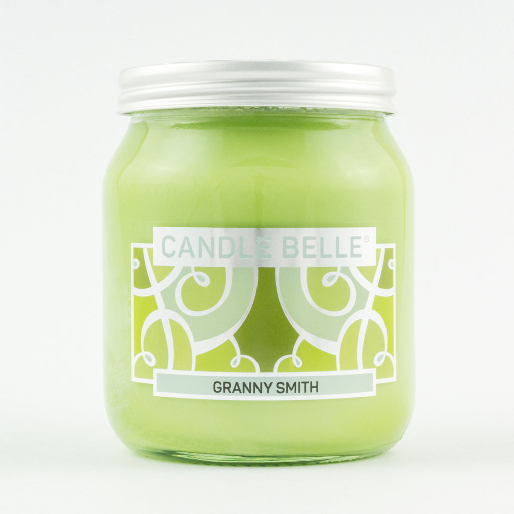 Candle Belle® Granny Smith Fragranced Single Wick Jar Candle 280g