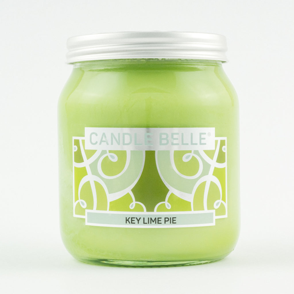 Candle Belle® Key Lime Pie Fragranced Single Wick Jar Candle 280g
