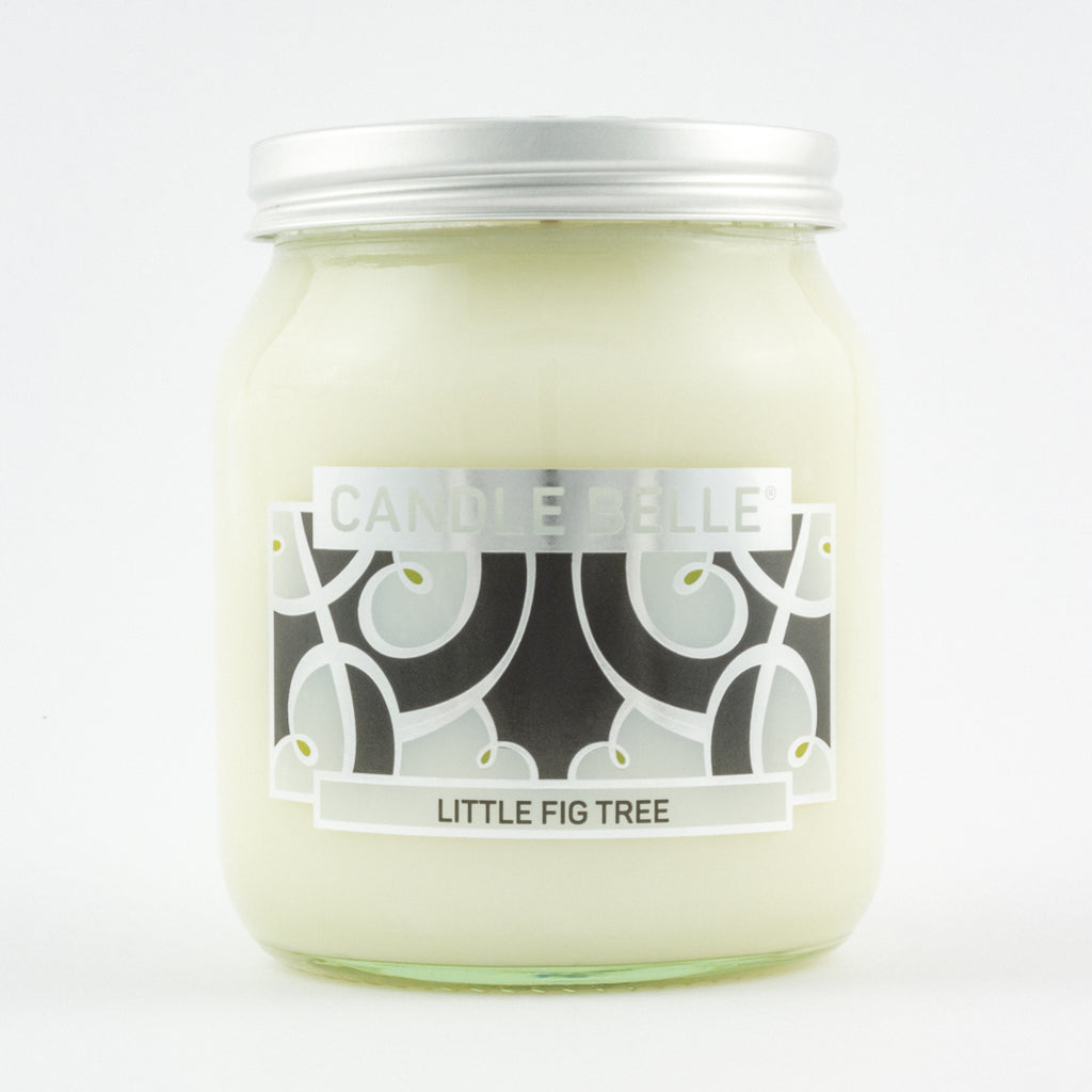 Candle Belle® DECO Little Fig Tree Fragranced Single Wick Jar Candle 280g