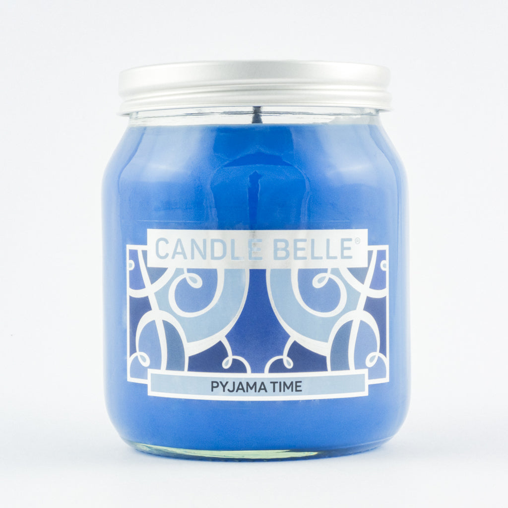 Candle Belle® Pyjama Time Fragranced Single Wick Jar Candle 280g