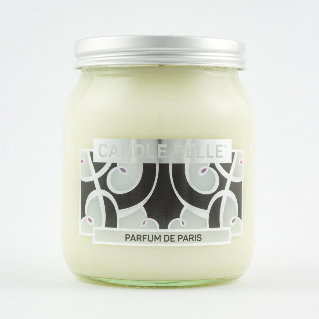 Candle Belle® DECO Parfum De Paris Fragranced Single Wick Jar Candle 280g