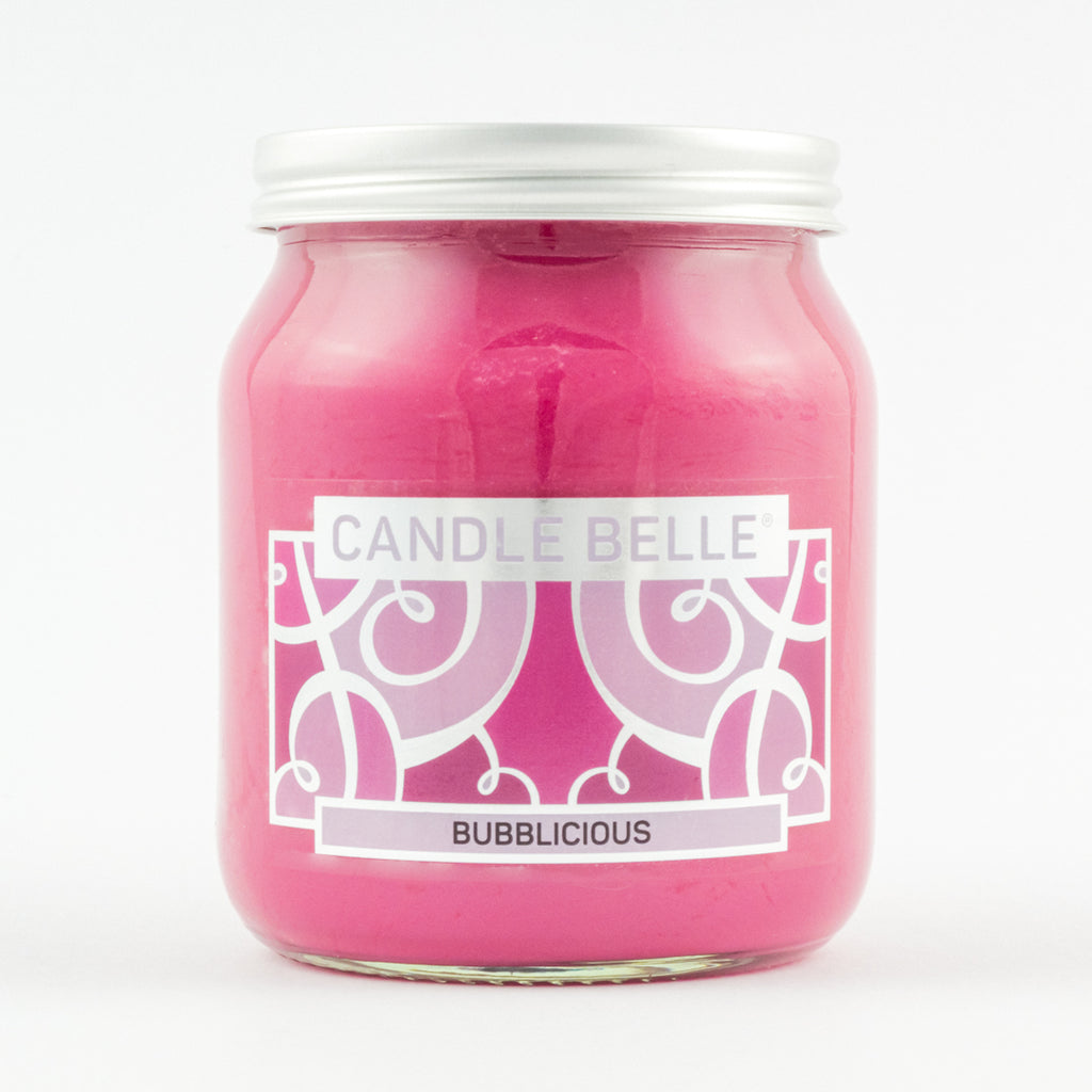 Candle Belle® Bubblicious Fragranced Single Wick Jar Candle 280g