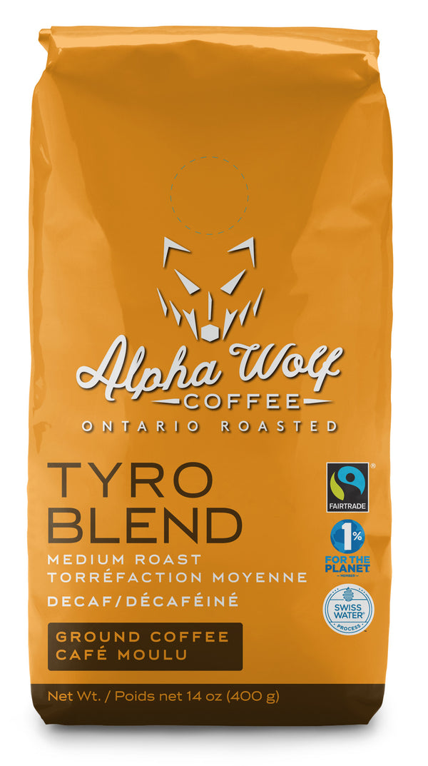 TYRO BLEND FAIRTRADE DECAF COFFEE