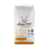 Alpha Blend Medium Roast Ground Coffee Fairtrade Certified Organic 454 g (16 oz)