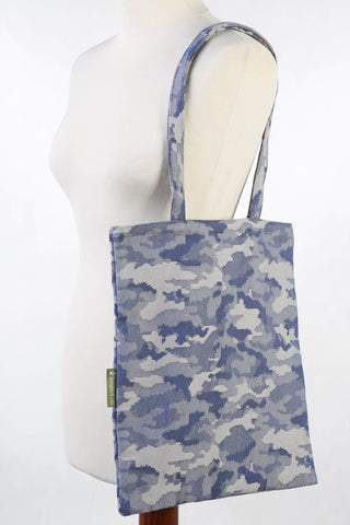 Lenny Lamb Shopping Bag - Blue Camo