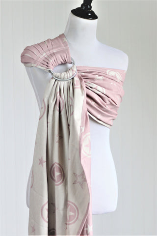 Bibetts 'Outerspace Pink' Ring Sling