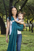 Bibetts Pure Linen Ring Sling - Teal